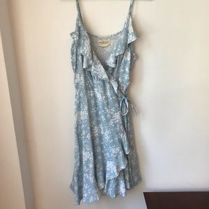 Ralph Lauren Denim & Supply Floral Wrap Dress